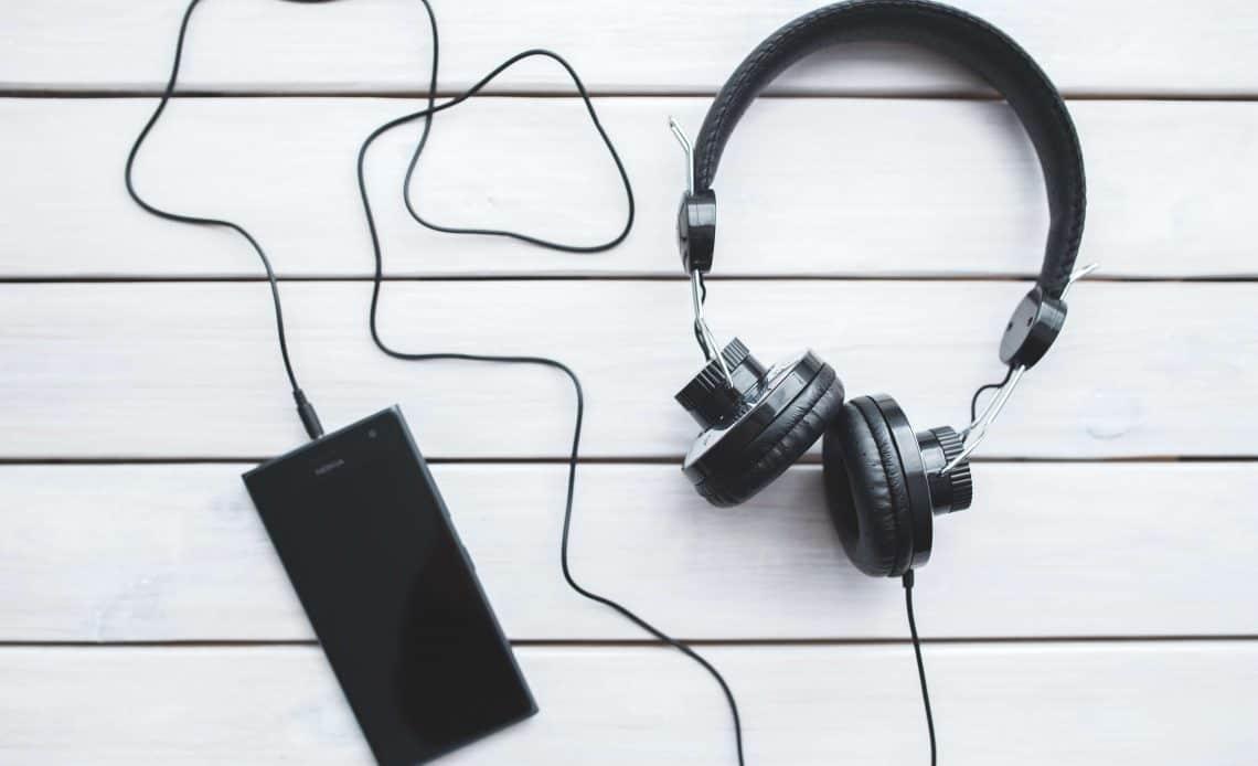 Telefon i słuchawki