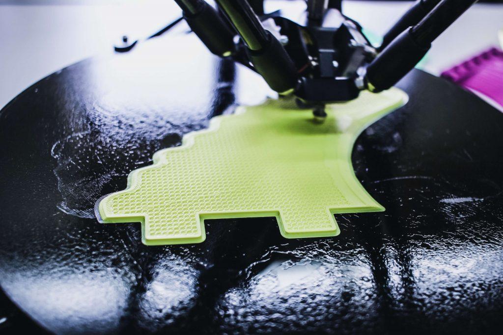 Drukarka 3D przy pracy