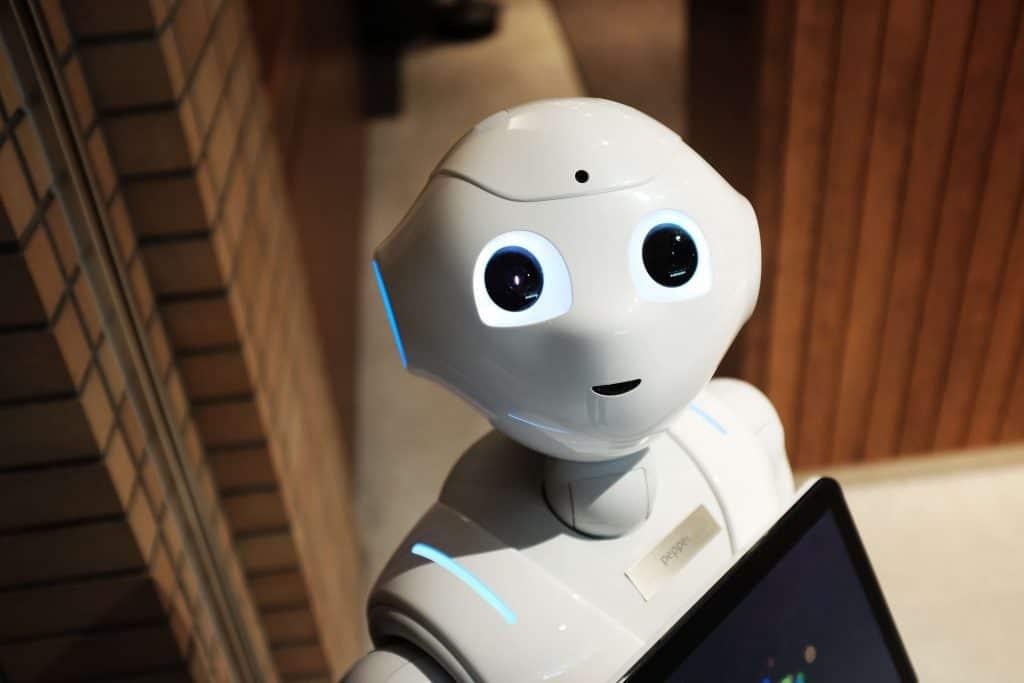 Robot obsługujący klientów
