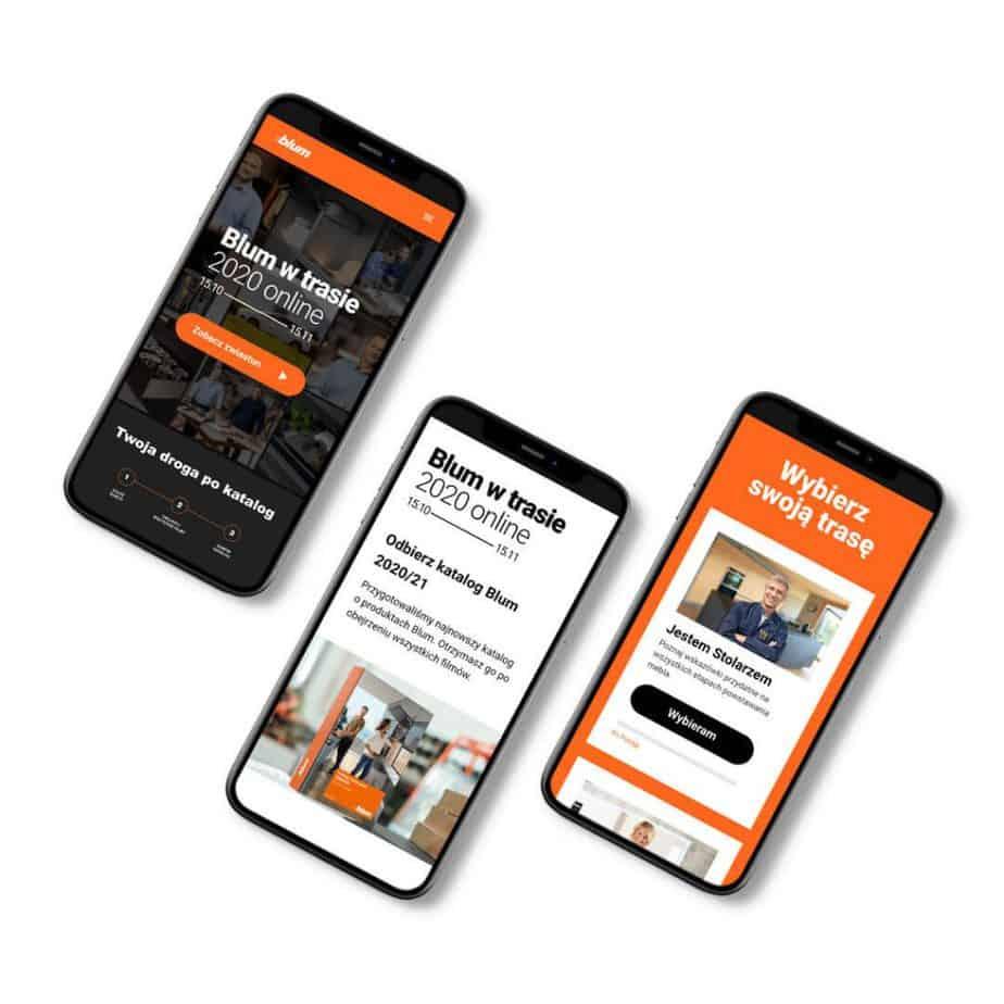 Blum w trasie – aplikacja mobilna
