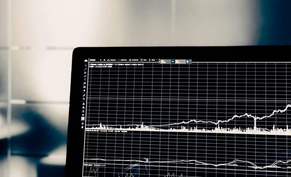 Wykres na komputerze