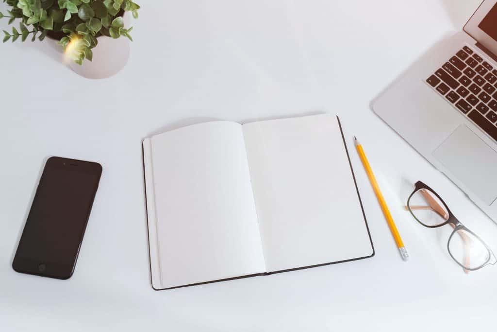 Biurko zorganizowanej osoby