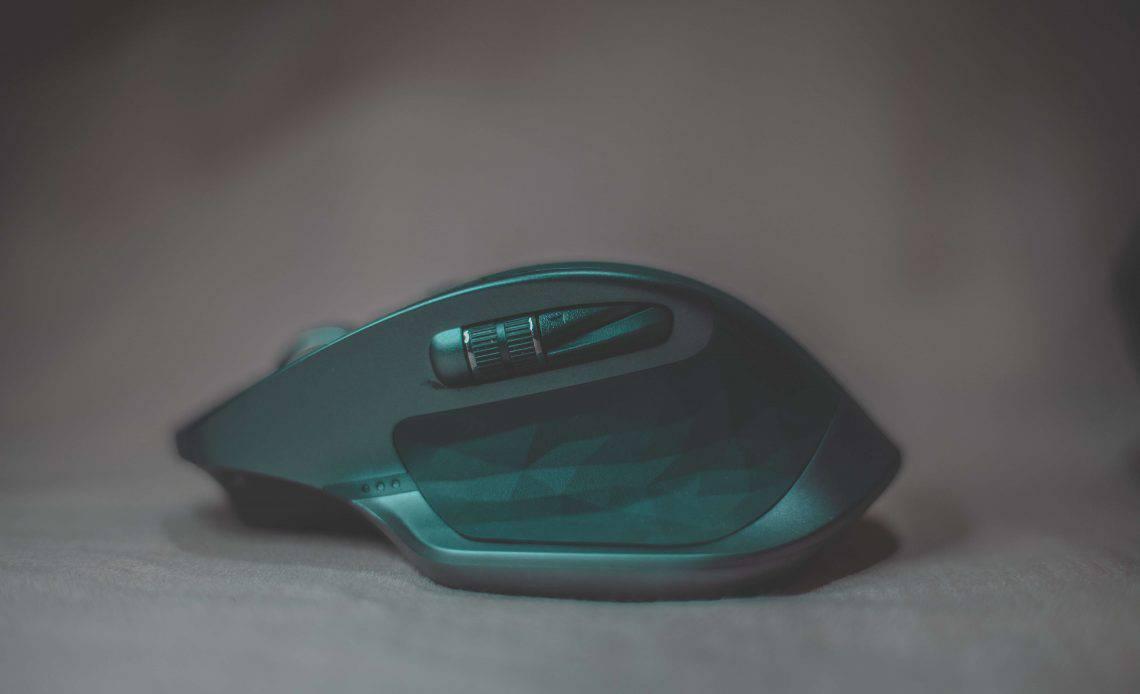 Mysz ergonomiczna w kolorze zielonym